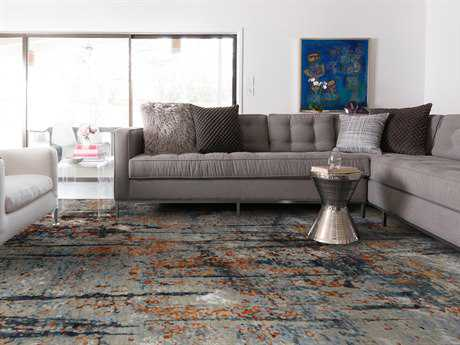 Amer Rugs Synergy Stone Blue Rectangular Area Rug
