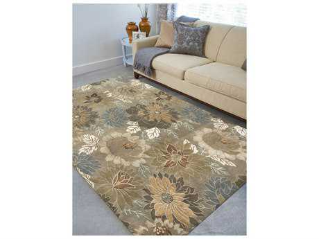 Amer Rugs Synergy Soft Camel Rectangular Area Rug