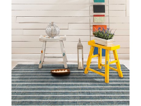 Amer Rugs Tropics Teal Rectangular Area Rug
