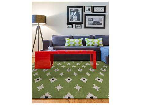 Amer Rugs Zara Green Rectangular Area Rug
