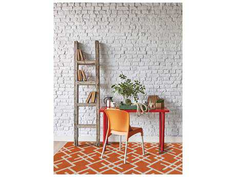 Amer Rugs Zara Orange Rectangular Area Rug