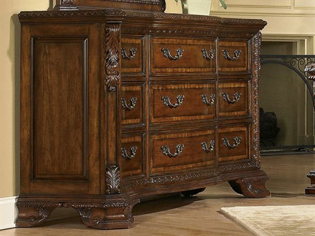 A.R.T. Furniture Old World Nine Drawer Dresser