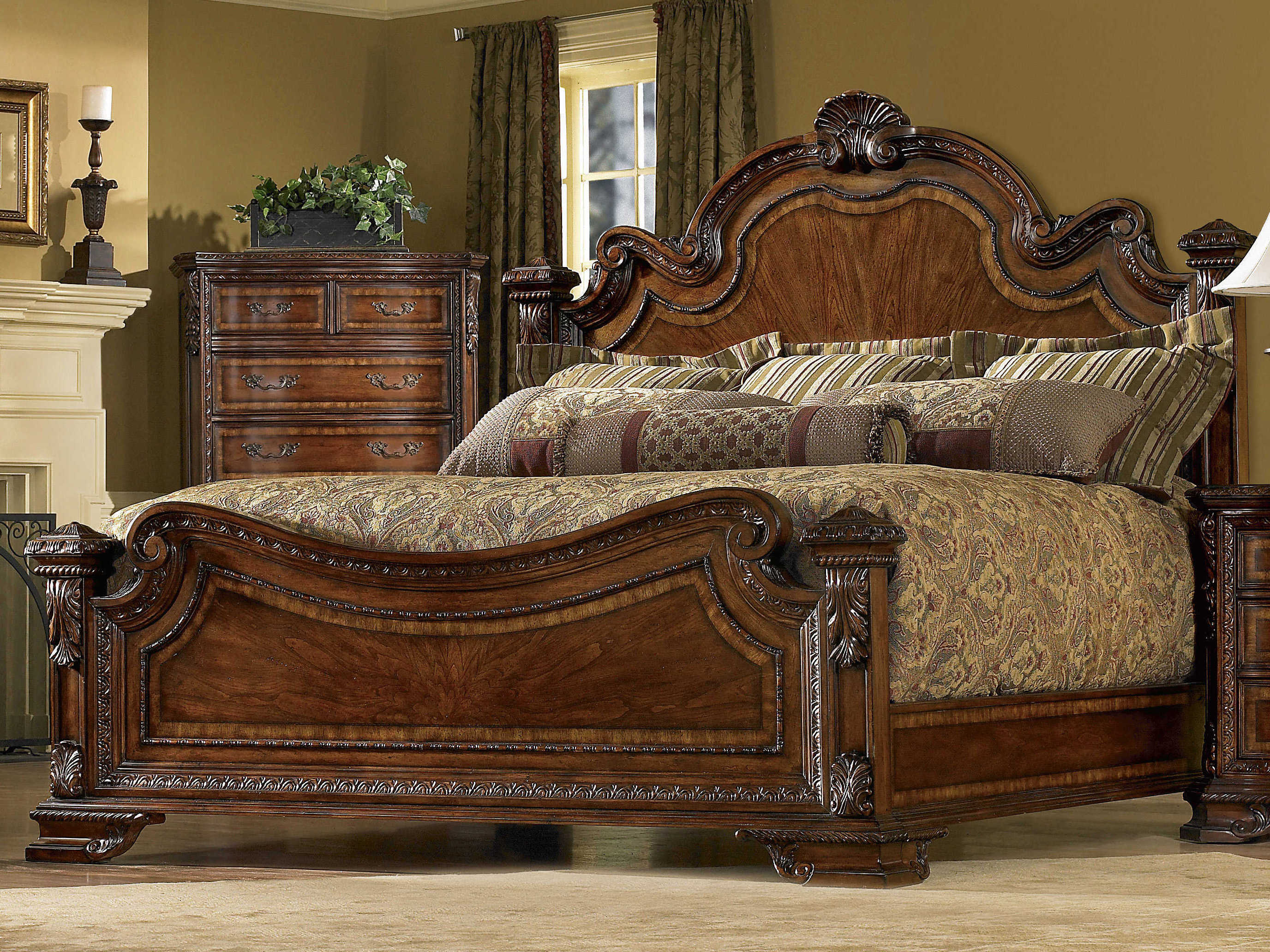 furniture old world bedroom set at1431562606set