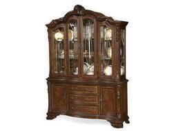 ART Furniture Old World Pomegranate China Cabinet Deck