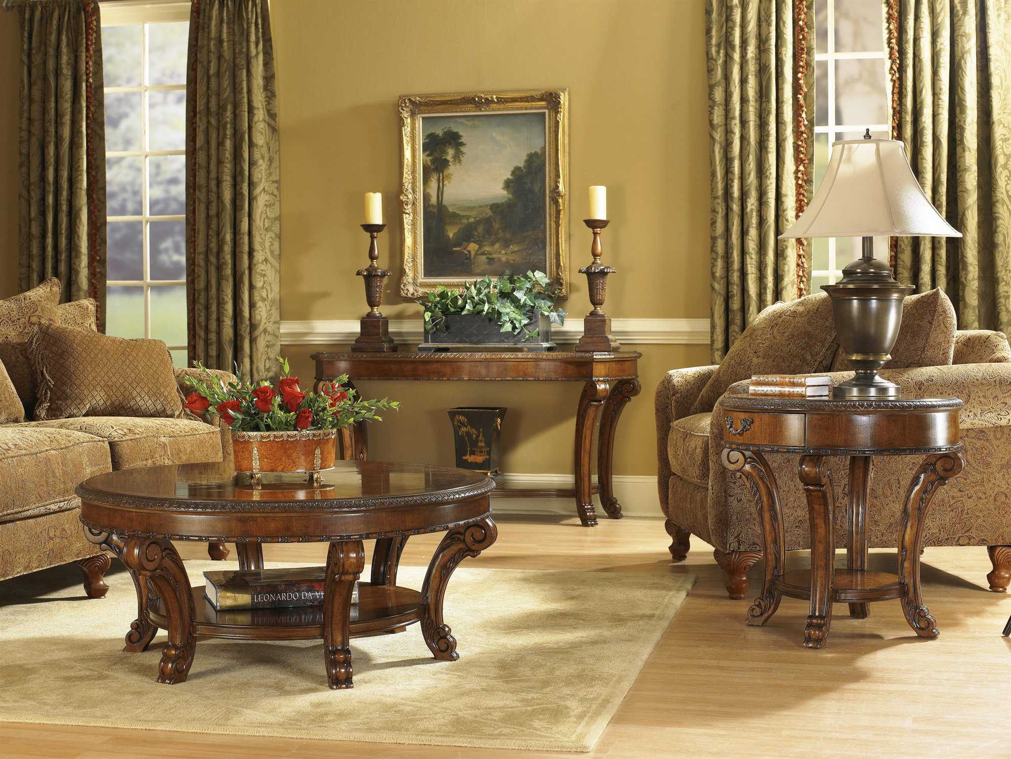 Living Room Furniture: A.R.T. Furniture Old World Living Room Set