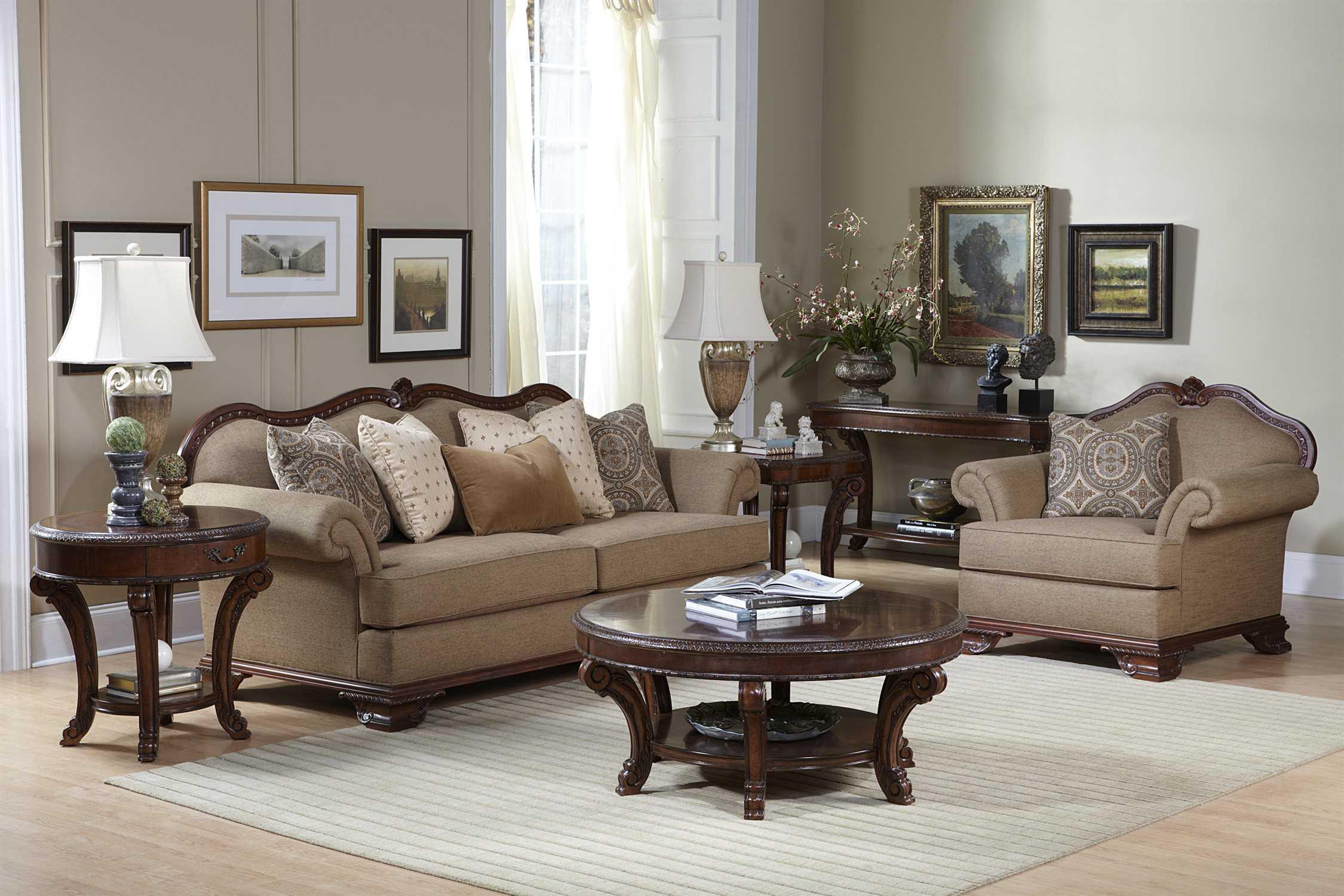 A.R.T. Furniture Old World Living Room Set