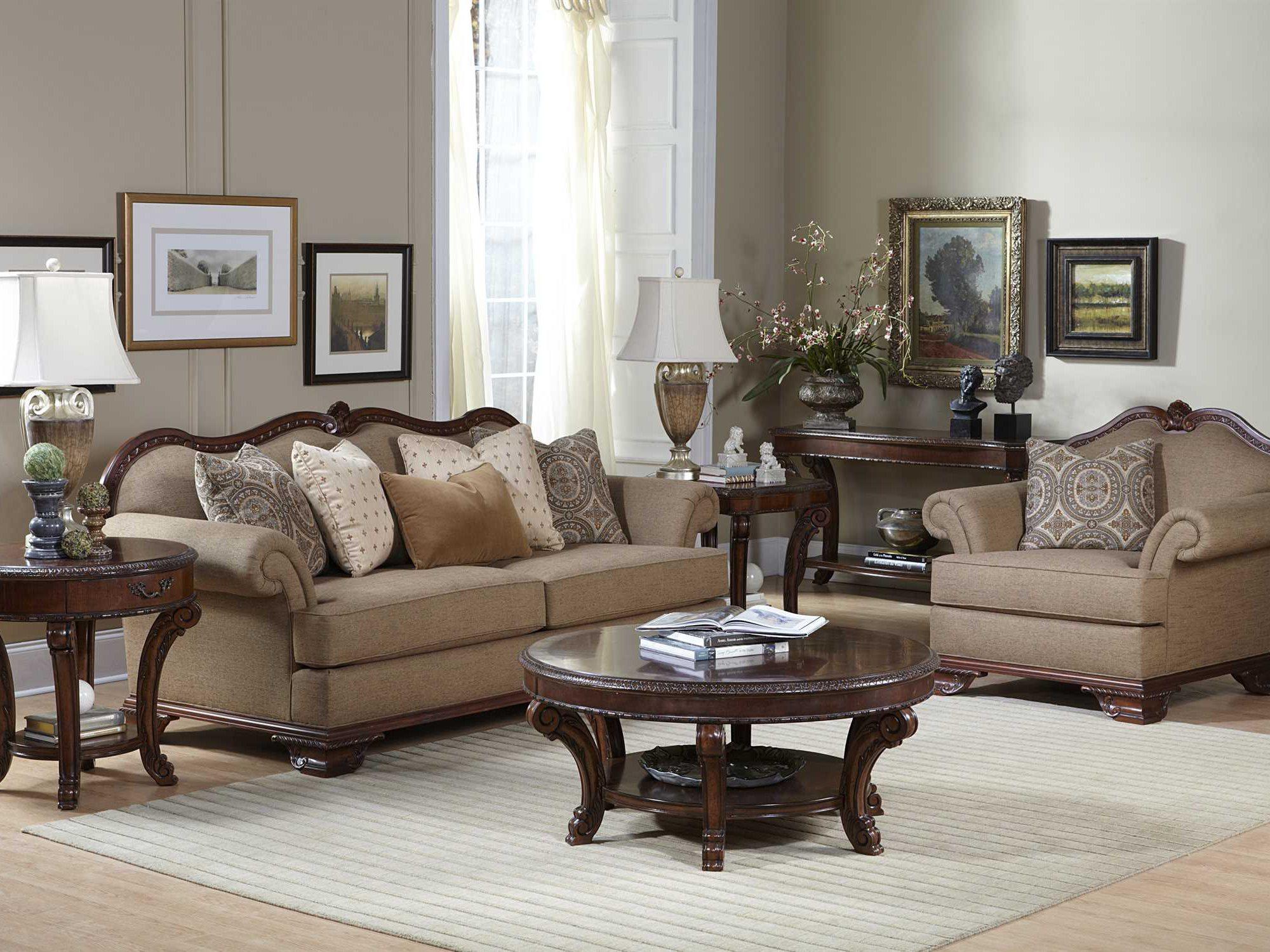 A R T Furniture Old World Living Room Set