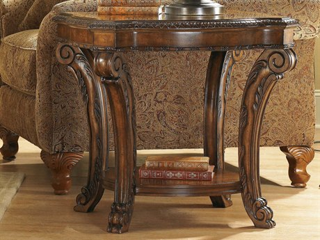 A.R.T. Furniture Old World 26 X 28 Rectangular End Table