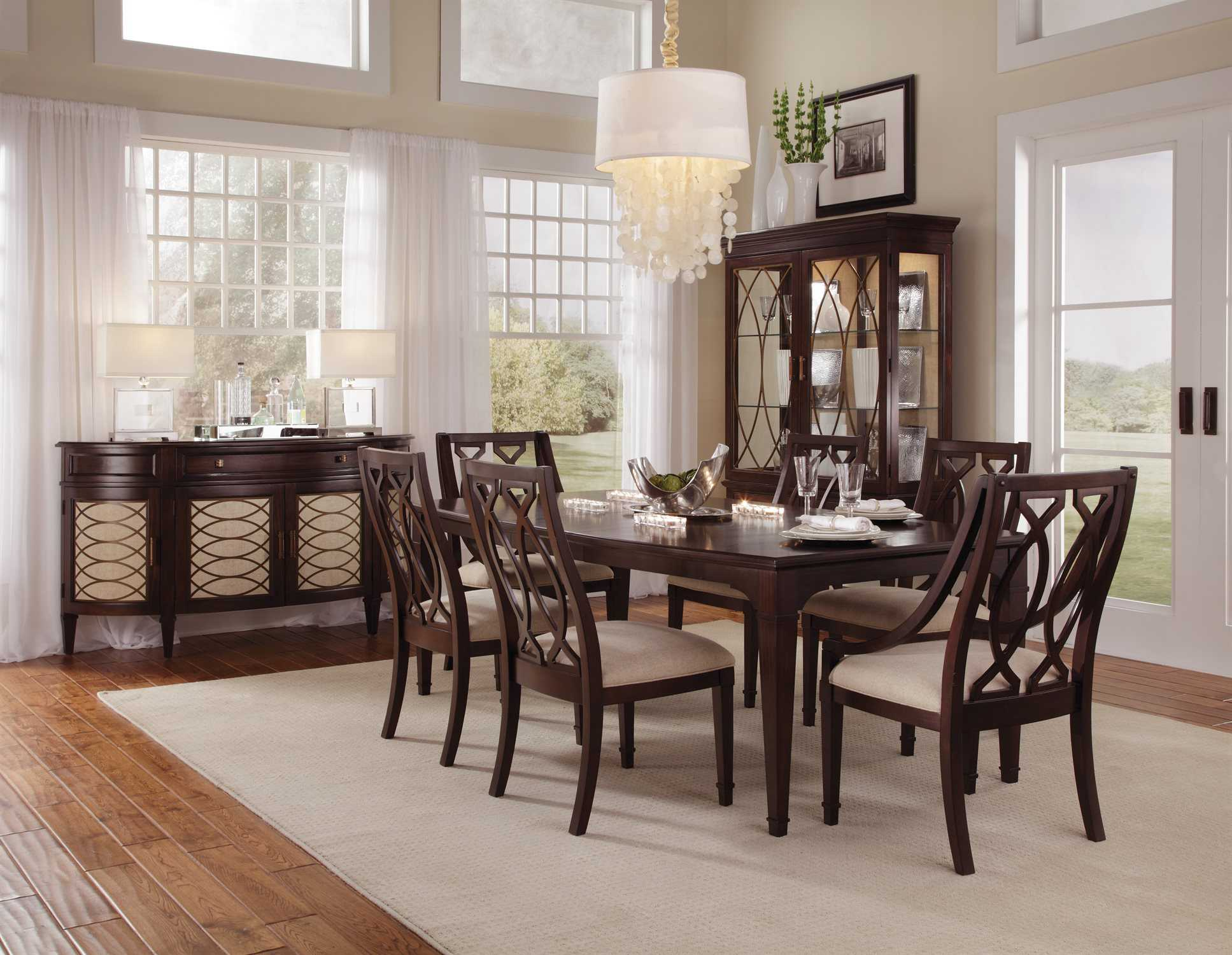 Furniture Intrigue Dining Set AT1612202636SET2