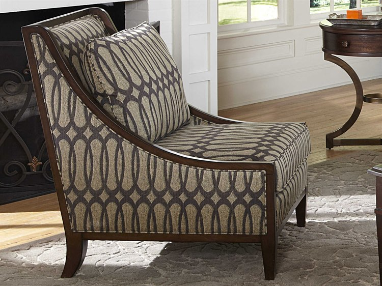 A R T Furniture Harper Mineral Hickory Veneer Accent
