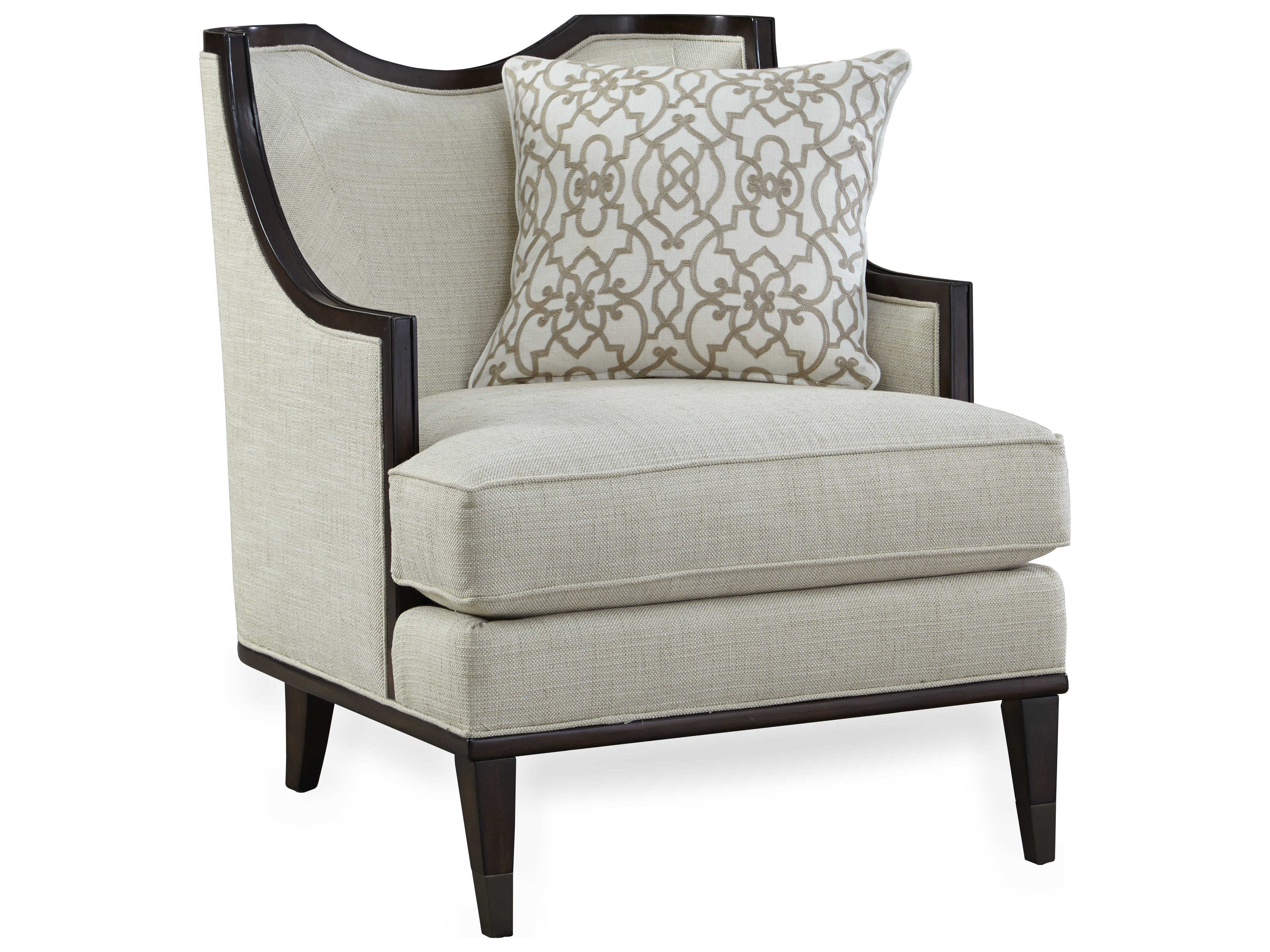 accent living room chair a r t furniture ivory mink accent chair 12425