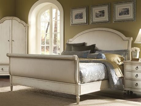 A.R.T. Furniture Provenance Upholstered King Sleigh Bed