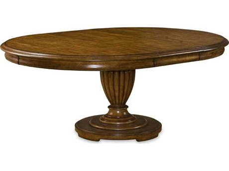 A.R.T. Furniture Provenance Rustic Pine 79'' Wide Round Dining Table