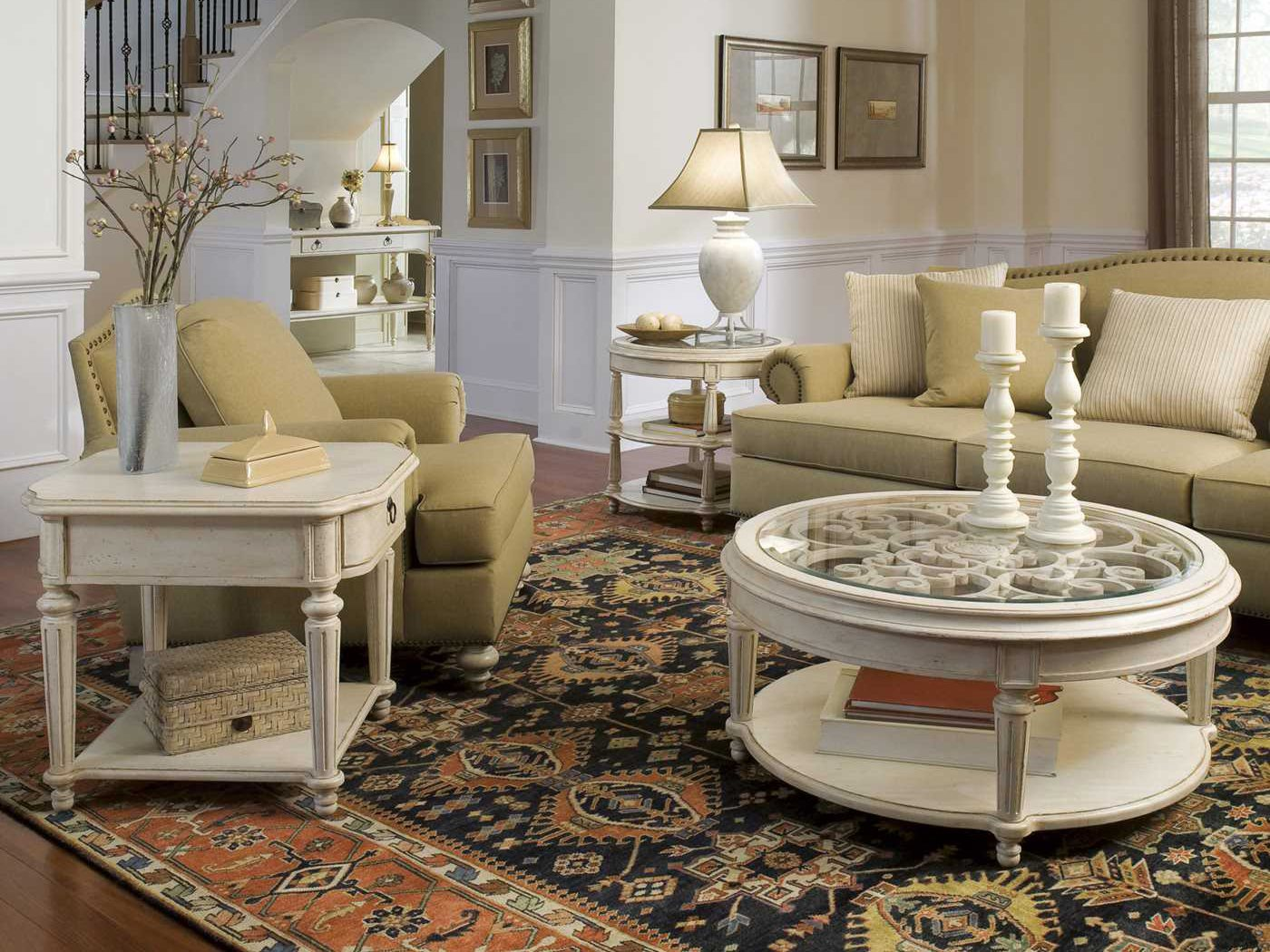 A r t furniture provenance living room set at1763022617set - Table basse classique ...