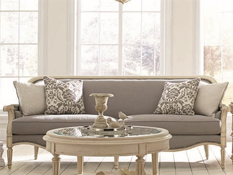 ART Furniture The Foundry Seine Pewter Sofa