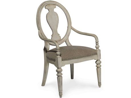 A.R.T. Furniture Belmar Oval Splat Back Dining Arm Chair (Sold as Set of 2)