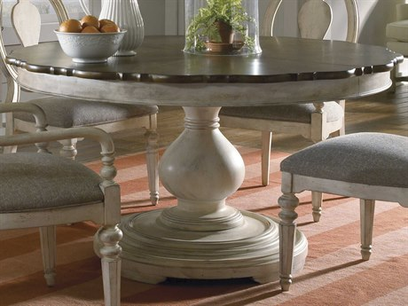 Round Dining Room Tables Round Kitchen Tables For Sale - White and brown round dining table