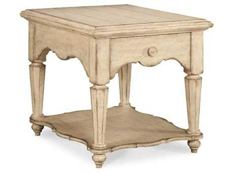 A.R.T. Furniture Belmar 24 x 28 Rectangular Drawer End Table