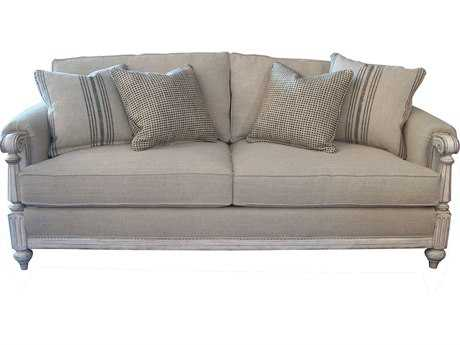 ART Furniture The Foundry Weathered Cream Sofa