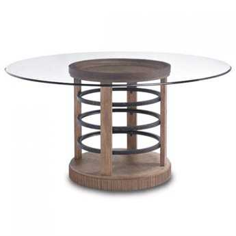 A.R.T. Furniture Ventura 60 Round Glass Dining Table