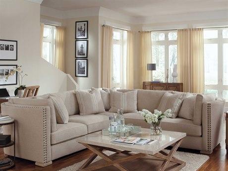 A.R.T. Furniture Ventura Natural with Cherused Oak Sectional Sofa
