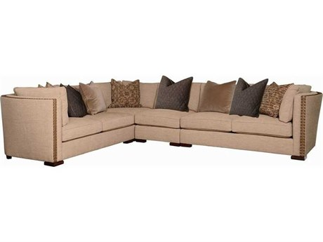 A.R.T. Furniture Ventura Bourbon with Cherused Oak Sectional Sofa