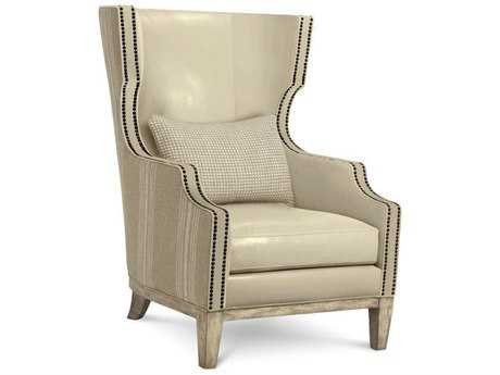 A.R.T. Furniture Madison Natural Ivory Wing Accent Chair