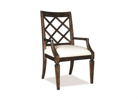 A.R.T. Furniture Classics Lattice-Back Dining Arm Chair (Sold in 2)