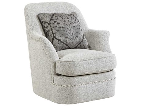 ART Furniture Amanda Sterling Cotswold Swivel Club Chair