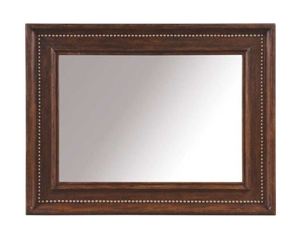 A.R.T. Furniture Whiskey Oak 47 x 37 Landscape Mirror