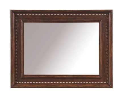 A.R.T. Furniture Whiskey Oak 47 x 37 Landscape Mirror