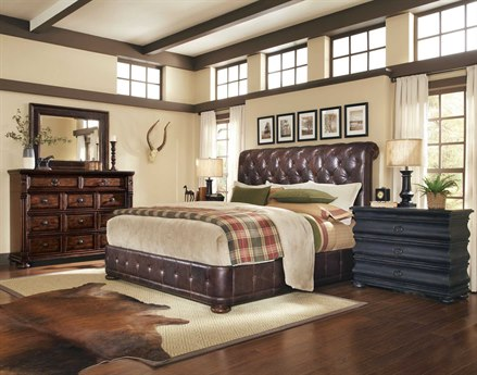 A.R.T. Furniture Whiskey Oak Bedroom Set