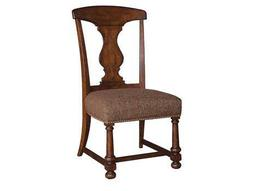 A.R.T. Furniture Whiskey Oak Splat-Back Dining Side Chair (Sold in 2)
