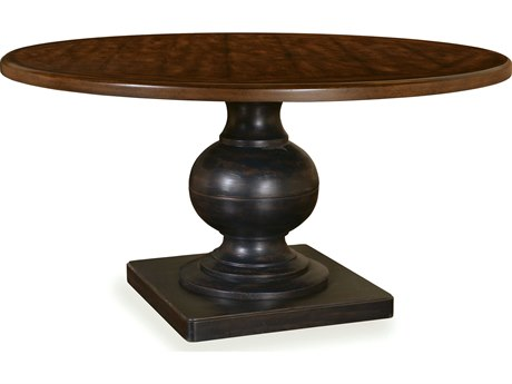 ART Furniture Whiskey Oak Dark Oak 30'' Wide Round Dining Table