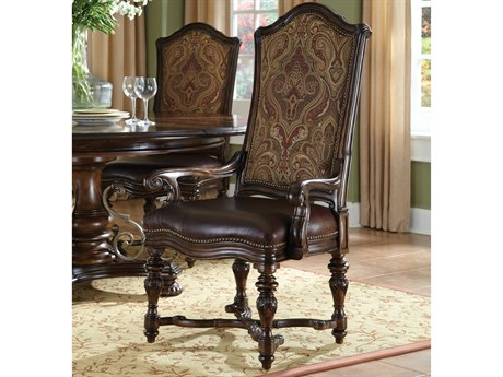 ART Furniture Valencia Dark Oak Dining Arm Chair (Sold in 2)