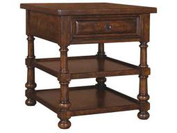 A.R.T. Furniture Whiskey Oak 24 x 27 Rectangular End Table