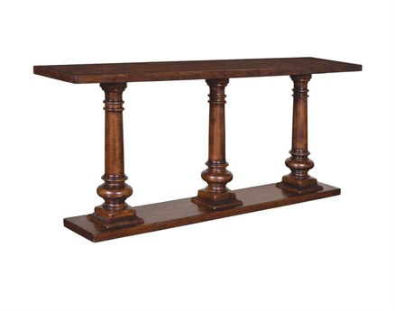 A.R.T. Furniture Whiskey Oak 72 x 15 Rectangular Sofa Table