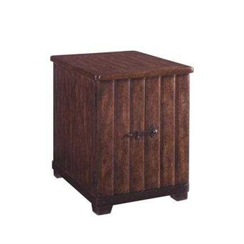A.R.T. Furniture Whiskey Oak 19.5 x 25 Rectangular Chairside End Table