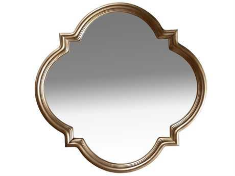 A.R.T. Furniture Cosmopolitan 42'' Wide White Bronze Wall Mirror