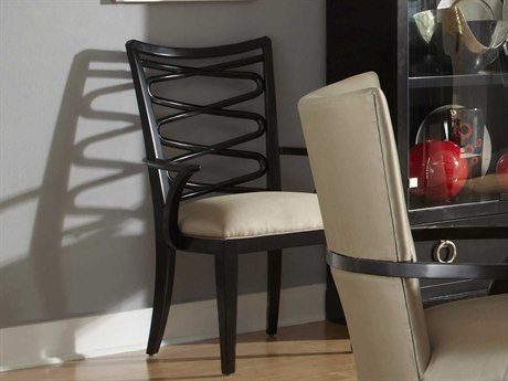 A.R.T. Furniture Cosmopolitan Espresso Dining Arm Chair (Sold in 2)