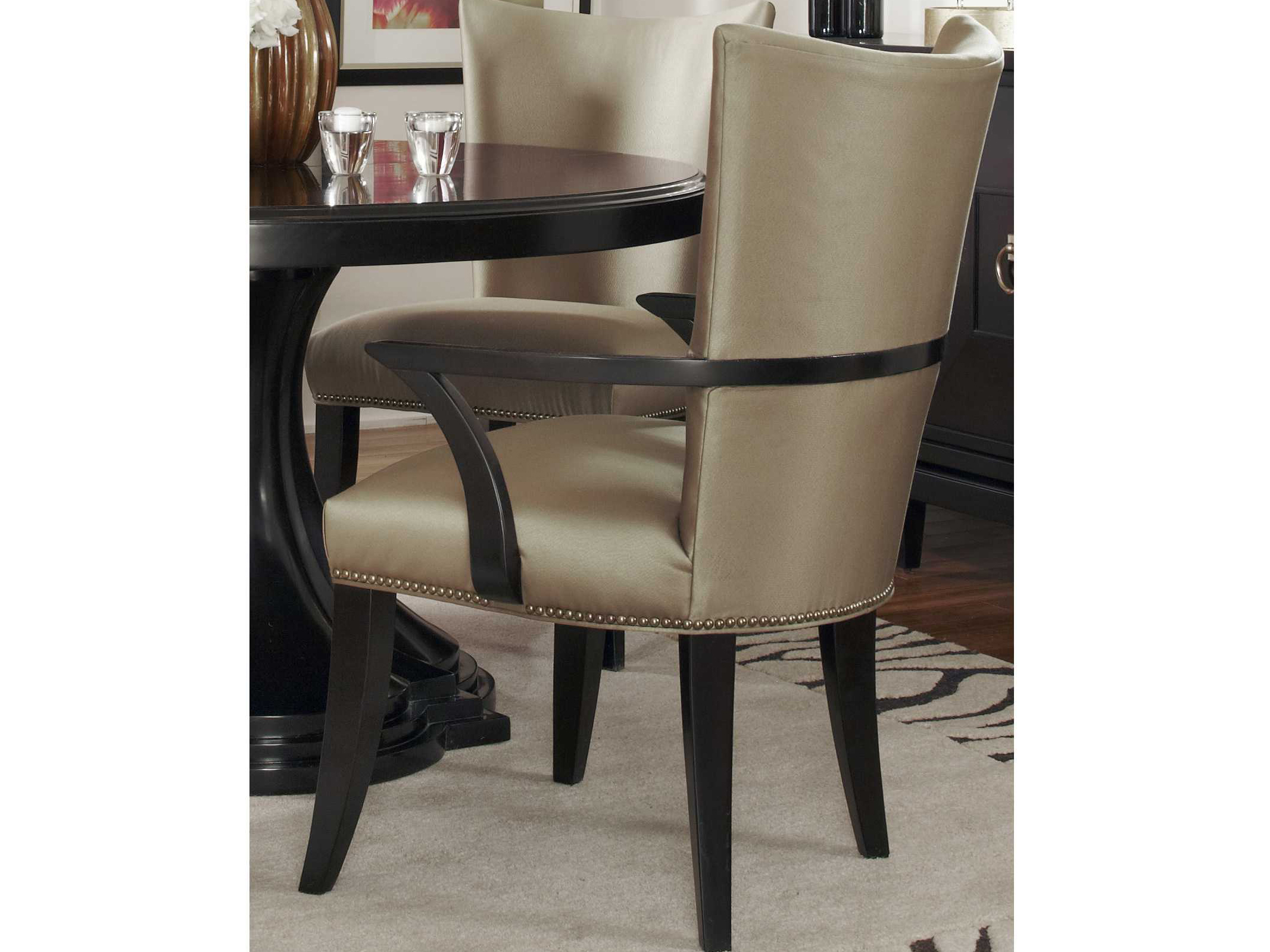 A R T Furniture Cosmopolitan Espresso Dining Arm Chair