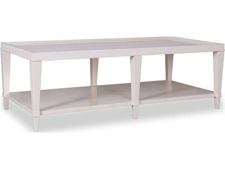 A.R.T. Furniture Cosmopolitan White 58''L x 28''W Rectangular Cocktail Table