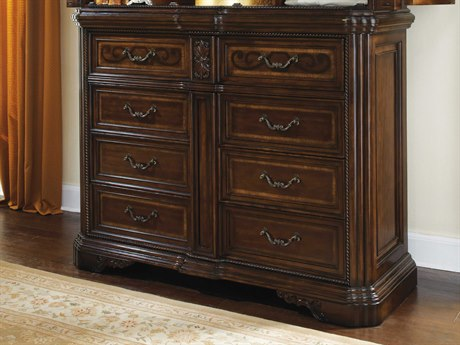A.R.T. Furniture Valencia Dark Oak 63''W x 24''D Chest of Drawers