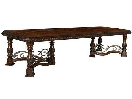A.R.T. Furniture Valencia 50 x 86 Rectangular Trestle Dining Table