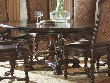 A.R.T. Furniture Valencia Dark Oak 58'' Wide Round Dining Table