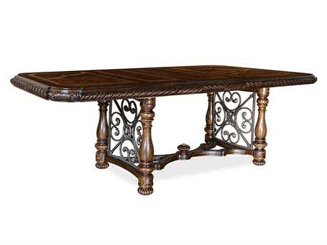A.R.T. Furniture Valencia 45 x 76 Rectangular Gathering Height Dining Table