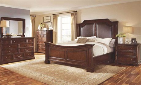 A.R.T. Furniture Egerton Adjustable Height Queen Panel Bed