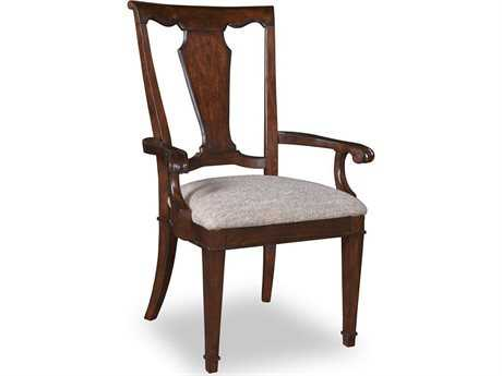 A.R.T. Furniture Egerton Wood Back Dining Arm Chair (Sold in 2)