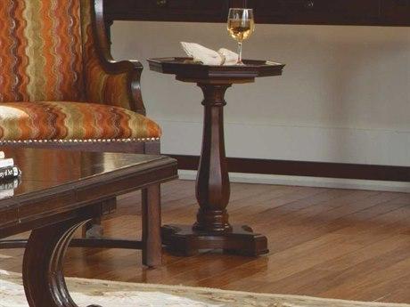 ART Furniture Egerton Medium Cherry 16'' Wide Round Pedestal Table