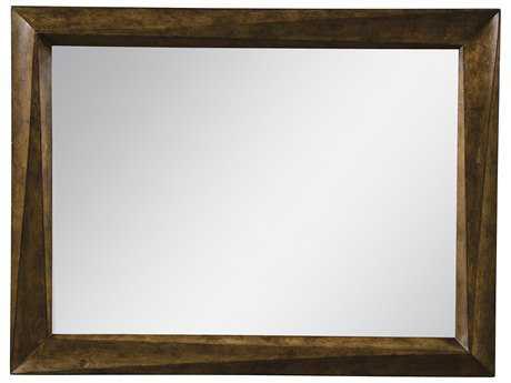 ART Furniture Echo Park Huston Arroyo stippled stain 50''W x 40''H Rectangular Wall Mirror